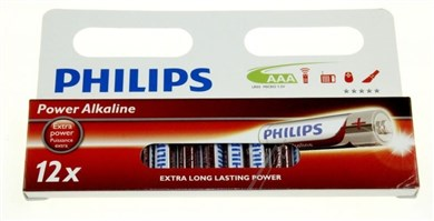 Philips AAA power alkaline batteri 12-pak