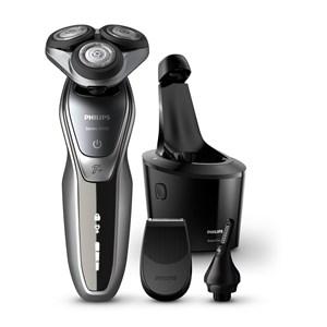 Image of   SHAVER Series 5000 S5941/27 barbermaskine til ham Rotations shaver Trimmer Sort, Sølv