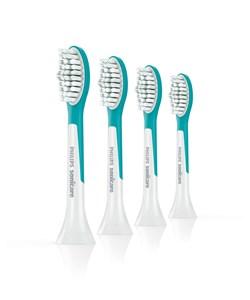 Image of   Sonicare For Kids HX6044/33 børstehoved til elektrisk tandbørste 2 stk Blå