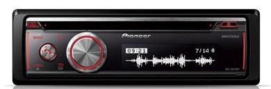 Image of   DEH-X8700BT bil media receiver Sort Bluetooth