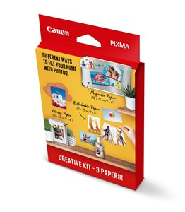 Canon 10x15 PIXMA Creative Kit MG/RP/PP (60 assorted)