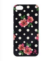 Image of Mobil Cover iPhone 5/5s/SE Polka Sort