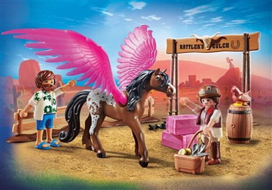The Movie Marla and Del with Flying Horse