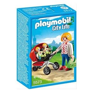 Playset City Life Mama With Twin Cart Playmobil 5573