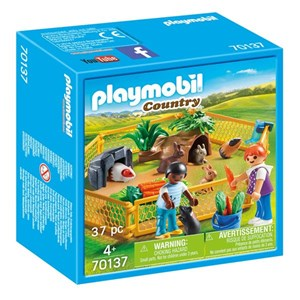 Playset Country Farm Animal Enclosure Playmobil 70137 (37 pcs)