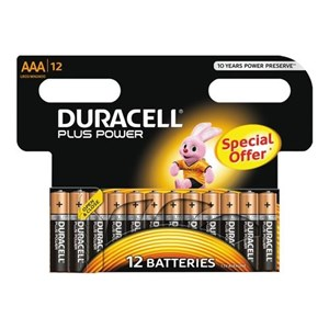 Plus Power AAA Batterier, 12pk - Special Offer