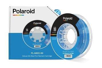 Polaroid 250g Deluxe Silk PLA Filament Blue