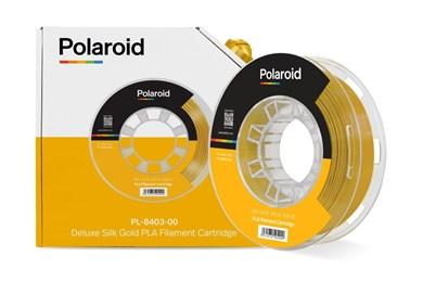 Polaroid 250g Deluxe Silk PLA Filament Gold