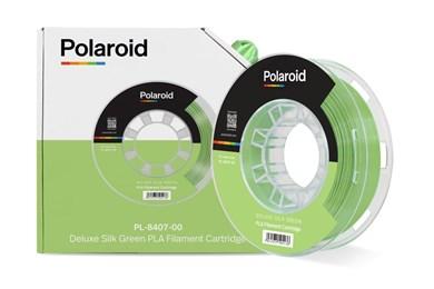Polaroid 250g Deluxe Silk PLA Filament Green