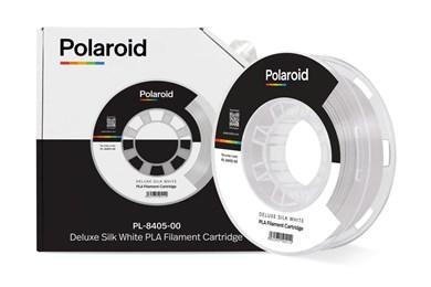 Polaroid 250g Deluxe Silk PLA Filament White