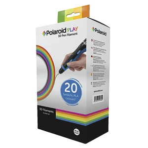 Polaroid Play 20 Pack PLA 3D Pen Filament