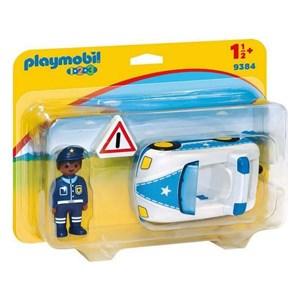 Politibil 1.2.3 Playmobil 9384 (3 pcs)