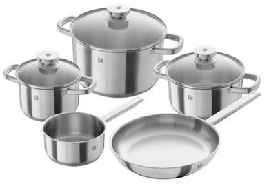 Image of   Pot Set + frying pan ZWILLING Joy 64040-002-0 (1,5 litres, 2 litres, 2,9 litres, 6 litres)