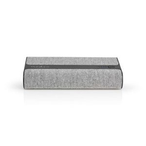 Image of   Powerbank med stof | 15.000 mAh | 2 x USB-A 2 A (maks.) | Grå