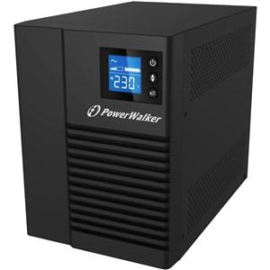 10121007 UPS-enhed Interaktivt indgangsstik 750 VA 500 W 4 AC stikkontakt(er)