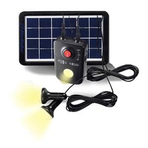 Solar powerbank Sort Lithium-Ion (Li-Ion) 4,4 mAh