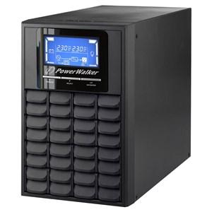 VFI 1000C LCD Dobbeltkonvertering (online) 1000 VA 800 W 3 AC stikkontakt(er)