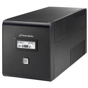 VI 1000 LCD 1000 VA 600 W 4 AC stikkontakt(er)