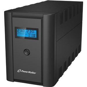 VI 1200 LCD/IEC Interaktivt indgangsstik 1200 VA 600 W 6 AC stikkontakt(er)