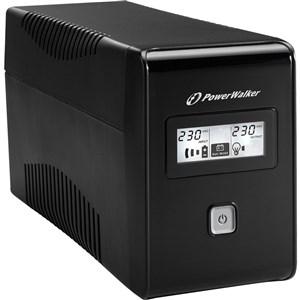 VI 850 LCD Interaktivt indgangsstik 850 VA 480 W