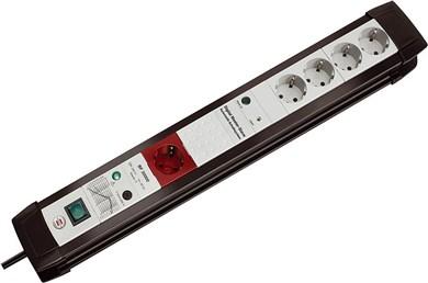 Image of   Premium-Line Automatic Extension Socket 30000 A overspændingsbeskytter 5 AC stikkontakt(er) 3 m Sort, Grå