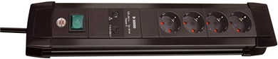 Image of   Premium-Line Surge Protection 30.000 A overspændingsbeskytter 8 AC stikkontakt(er) 3 m Sort