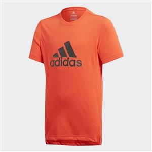 Image of   Kortærmet T-shirt til Børn Adidas YB Prime Log TE Rød