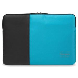 """Image of   Pulse taske og etui til notebook 39,6 cm (15.6"""") Sort, Blå"""