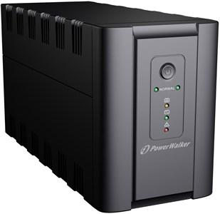 PWALK-0011 UPS, 2xSchuko, 1200 VA, 0.55 OF, black