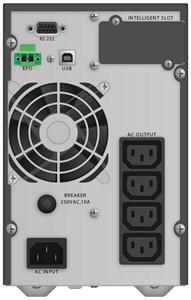 PWALK-0068 UPS, 1000 VA, 4xC13, 0.9 OF, LCD, blac