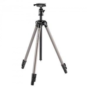 Image of   QHD-43D kamerastativ Digital-/filmkameraer 3 ben Sort, Sølv