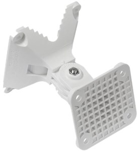 MikroTik quickMOUNT PRO LHG antenna wall or pole mount, white