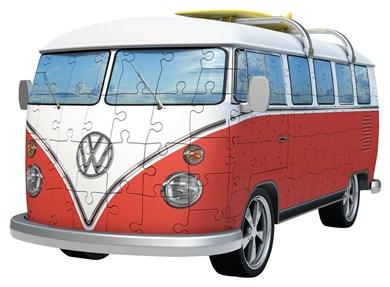VW Bus T1 Campervan 3D puslespil
