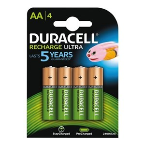Recharge Ultra AA 2500mAh, 4pk - Foropladt
