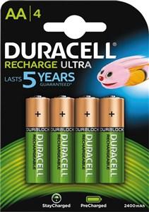 Recharge Ultra AA 2400mAh, 4pk - Precharged