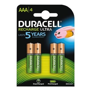 Recharge Ultra AAA 900mAh, 4pk - Foropladt