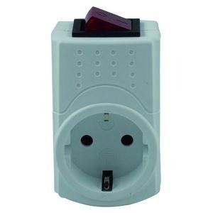 Image of   0512085777 strømstik adapter Type F Hvid