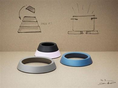 rig tig by stelton bordsk nere 4 stk k kken og bord. Black Bedroom Furniture Sets. Home Design Ideas