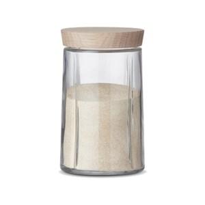 Billede af Grand Cru Opbevaringsglas 1,0 l, egetræslåg
