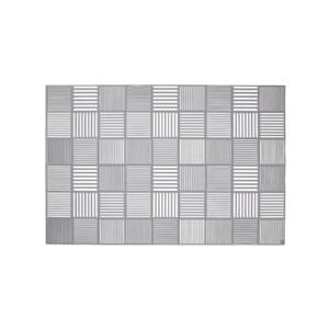 Image of   Nanna Ditzel Dækkeserviet, 2 stk., grå, 30x45 cm, silikone