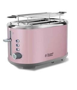 Image of   25081-56 brødrister 2 skive(r) Pink, Rustfrit stål 930 W