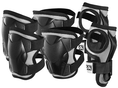 - Safty Set - Black XS (2-4 years)(82-2741-03)