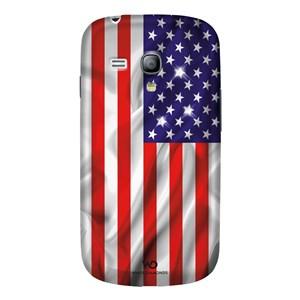 Image of   Cover Samsung S3 Mini Flag USA