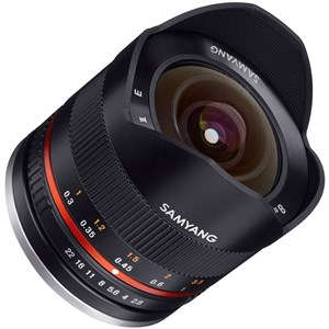 8mm F2.8 UMC Fish-eye II SLR Vidvinkellinse Sort