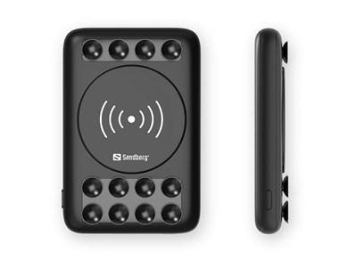 Sandberg Powerbank 5000 Wireless 5W, Black