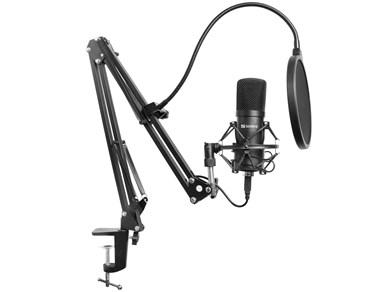 Image of   Sandberg Streamer USB Microphone Kit