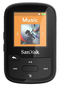 SanDisk SDMX28-016G-G46K MP3/MP4-afspiller MP3 afspiller Sort 16 GB