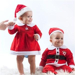Image of   Santa Claus Kostume Børn Dreng