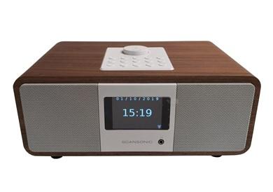 Scansonic IN320BT DAB+ og Internetradio