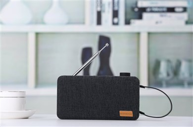 Scansonic PA6001 DAB+ radio med bluetooth - SORT
